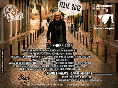 Bolo García | Actos Cabaret Palace | Diciembre 2013