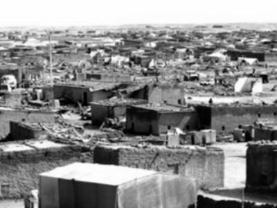 Campamento de refugiados saharauis en Tinduf (Argelia)