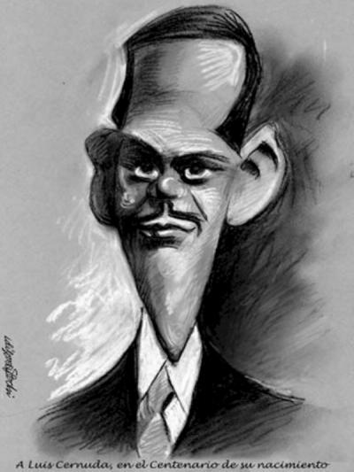 Caricatura de Luis Cernda | Idigoras y Pachi (2002)