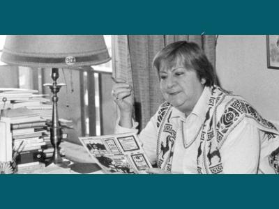 Centenario Gloria Fuertes | 1917-1998 | #gloriafuertes100 | El balcón de Gloria Fuertes | 03/06/2017 | 'Soy afiliada'