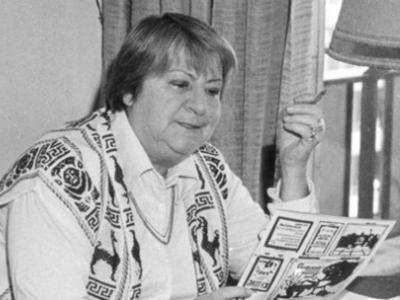 Centenario Gloria Fuertes | 1917-1998 | #gloriafuertes100 | El balcón de Gloria Fuertes | 13/10/2017 | El cansancio es tan cruel