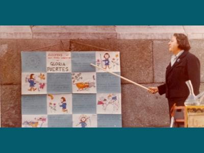 Centenario Gloria Fuertes | 1917-1998 | #gloriafuertes100 | El balcón de Gloria Fuertes | 15/08/2017 | Cuando sea paloma