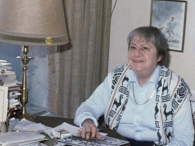 Centenario Gloria Fuertes | 1917-1998 | #gloriafuertes100 | El balcón de Gloria Fuertes | 22/11/2017 | Postal de campaña