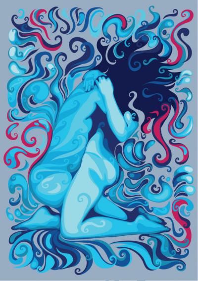 Cuerpos que son fragancia suspendida | Original de Alessandro Pautasso