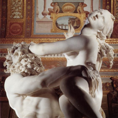 El rapto de Perséfone (Detalle) | Bernini