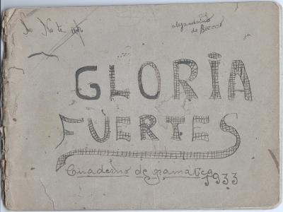 Exposición 'Gloria Fuertes 1917-1998' | Teatro Fernán Gomez´. Centro Cultural de la Villa | Fundación Gloria Fuertes | Centenario Gloria Fuertes | 14/03 al 14/05/2017 | Cuaderno de Gramática