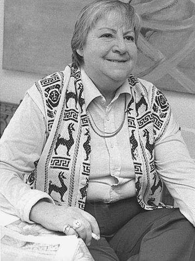 Gloria Fuertes | Poeta y escritora | Madrid 1917-1998 | La poeta en los años 80