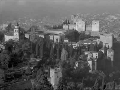 Vista de La Alhambra de Granada