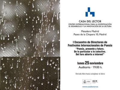 I Encuentro de Directores de Festivales Internacionales de Poesía