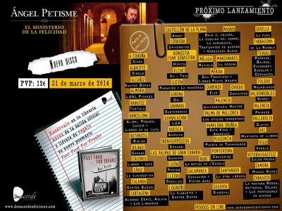 Lanzamiento del disco 'El ministerio de la felicidad' y el libro 'Fast food for freaks' de Ángel Petisme