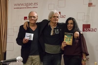 Luis Eduardo Aute, Joaquín Lera y Alicia Arés | (CC) Paula Díaz