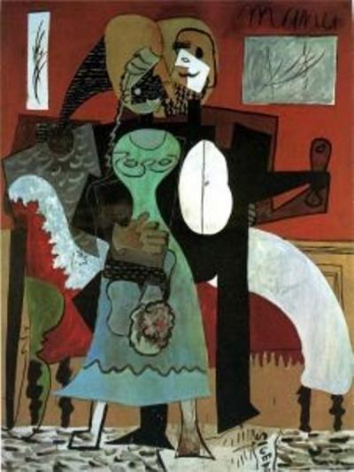 Los enamorados (1919) | Pablo R. Picasso
