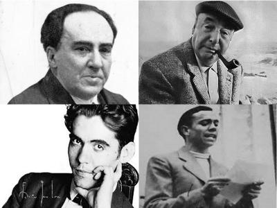 Antonio Machado | Pablo Neruda | Federico García-Lorca | Miguel Hernández
