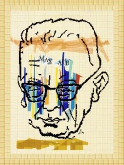 Max Aub | Collage de autor desconocido