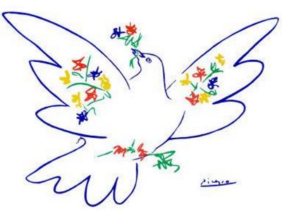 Paloma de la Paz (1949) | Dibujo de Pablo Picasso