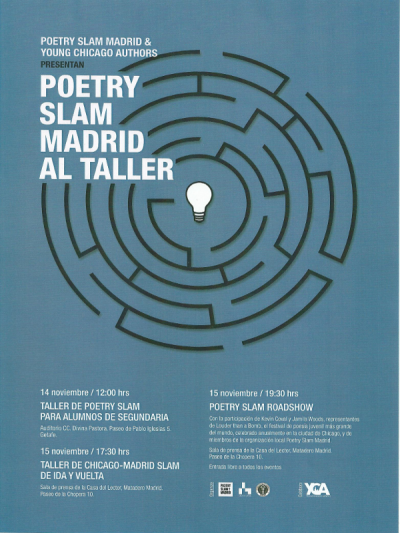Poetry Slam Madrid al Taller - 15-11-13