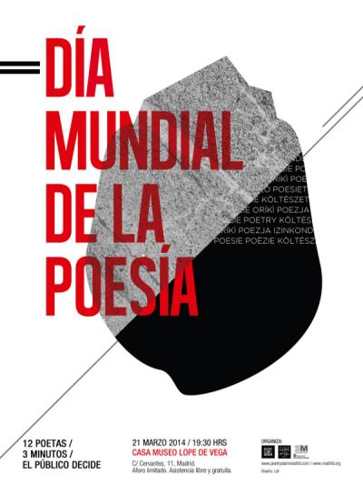 Poetry Slam Madrid especial Día Mundial de la Poesía | Casa Museo Lope de Vega | 21 de marzo de 2014