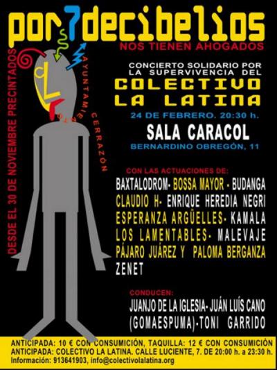 Por 7 decibelios nos tienen ahogados | Colectivo La Latina