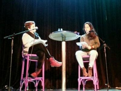 Martha Serrano y Andrea Puebla Parral  | Recital de poesía | 08-02-2014