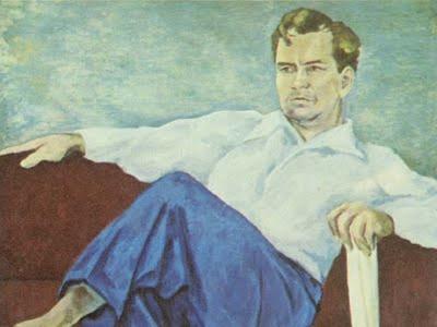 Retrato de Manuel Altolaguirre | Óleo sobre lienzo de José Moreno Villa (1949)