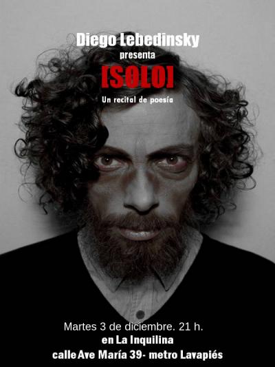 Solo | Diego Lebedinsky | 03-12-13