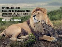 10ª Fiera del Libro - Jam de Poesía de Noviembre - La Inquilina - 14-11-13
