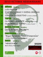 2010 Octubre Hernandiano | Fundación Progreso y Cultura
