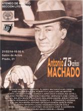 Antonio Machado 75 años | Homenaje poético | Ateneo de Madrid