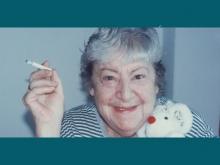 Centenario Gloria Fuertes   1917-1998   #gloriafuertes100   El balcón de Gloria Fuertes   09/06/2017   Gracias, amor
