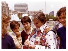 Centenario Gloria Fuertes   1917-1998   #gloriafuertes100   El balcón de Gloria Fuertes   14/04/2017