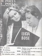 De poeta a poeta | Escribe Gloria Fuertes | Lucía Bose | Hacia 1980