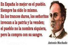 En España lo mejor es el pueblo | Antonio Machado