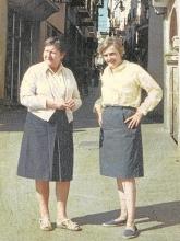 Gloria Fuertes | Madrid, 1917-1998 | Centenario Gloria Fuertes | Gloria con Phyllis | Años 60