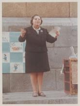 Gloria Fuertes | Poeta y escritora | Madrid 1917-1998 | Centenario Gloria Fuertes | #gloriafuertes100 | Recitando sus versos en los años 60
