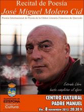Recital de Poesía de José Miguel Molero Cid - 08-11-13 - Estepona