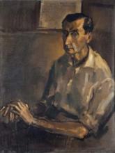 Retrato de José Bergamín - Ramón Gaya (1961)
