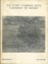 The Stony Thursday Book | Cuadernos de Madrid | N 1 - Junio 1991