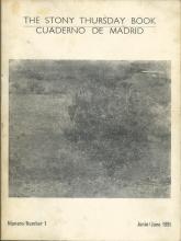 The Stony Thursday Book | Cuadernos de Madrid | N 1 - Junio 1991