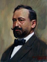 Vicente Blasco Ibáñez | 29-01-1867 - 28-01-1928 | Retrato por Alejandro Cabeza