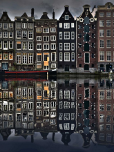 Vista de Amsterdam (Holanda)